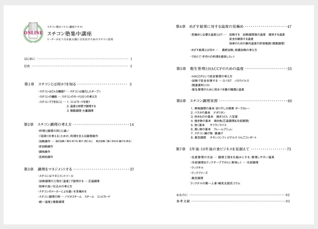 スチコン 真空調理 クックチル スチコン塾のオンライン講座
